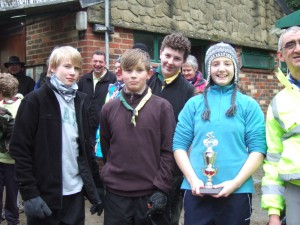 1st Roffey's Cyclo Cross winners of the Incident Relay