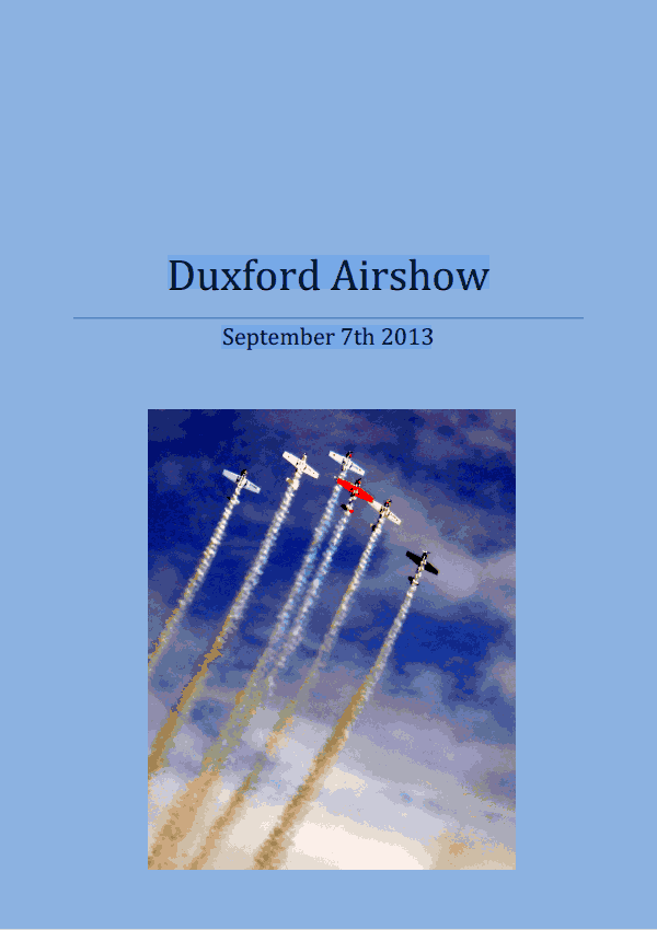 Duxford 2013 Page 1