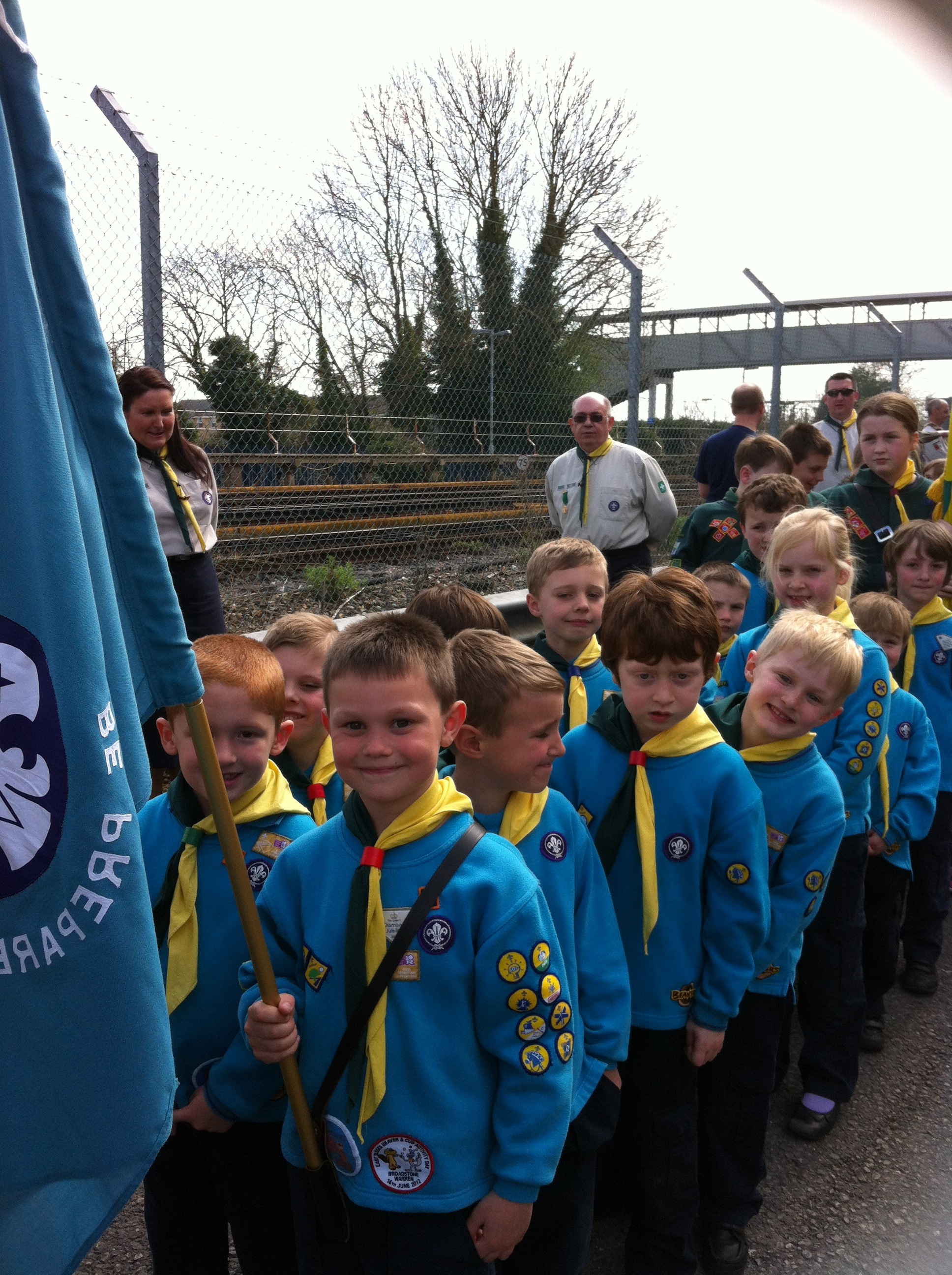 St Georges Day - Beavers Photo