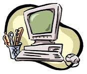 Image of a vacant Workstation of the Webmaster