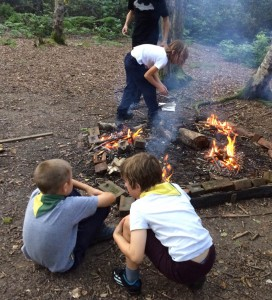 1st Roffey Cubs Cooking